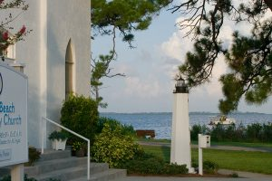 CBCC Steps and Lighthouse